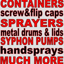 Packaging, sprayers & miscellaneous