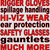 Protective equipment & spill containment