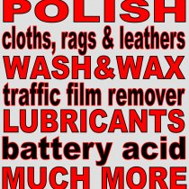Vehicle care & maintenance