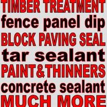 Wood treatment, paints and sealants